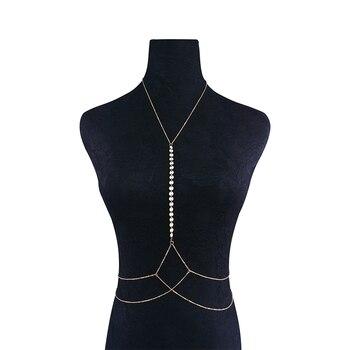 Sequins Body Bikini Chain4