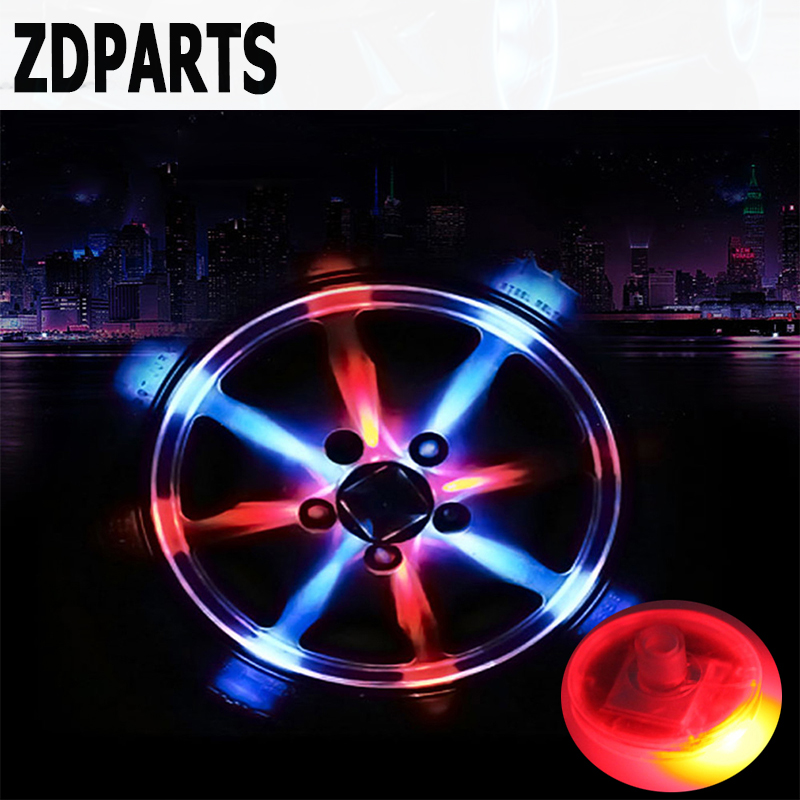 ZDPARTS 1PC Solar Car Wheel Air Tire Valve Caps LED Light For Ford Focus 2 3 Fiesta Mondeo MK Chevrolet Cruze Aveo Kia Rio Ceed