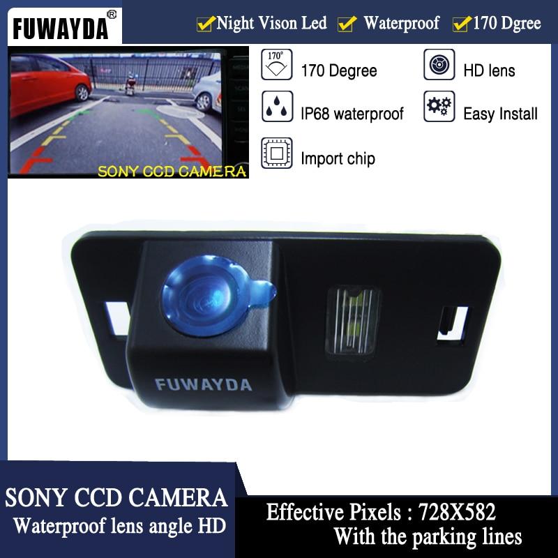 FUWAYDA SONY CCD Car Rear View Reverse Parking CAMERA For BMW 1/3/5/6/7 Series X5 X6 E46 E53 E70 E71 E39 E60N E61N WATERPROOF HD