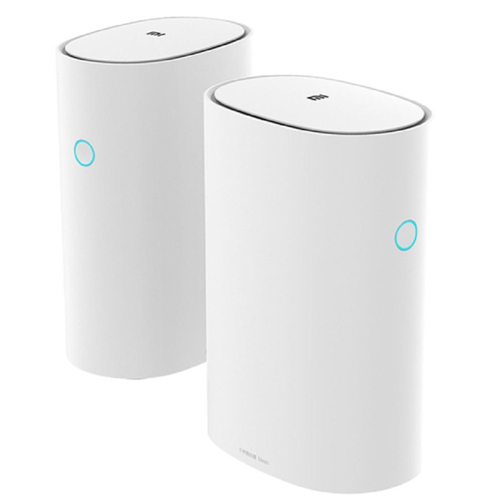 Xiaomi maille 2.4 + 5 GHz WiFi routeur intelligent AC1300 + 1000 M LAN + 1300 M ligne électrique Qualcomm DAKOTA 4 Core 4 amplificateurs de Signal - 2