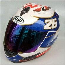 ARAI RX-7X LE шлем мотоциклетный шлем RX-7 EU/CORSAIR-X US IOM TT полный шлем Motocoss гоночный шлем Isle of Man, Capacete