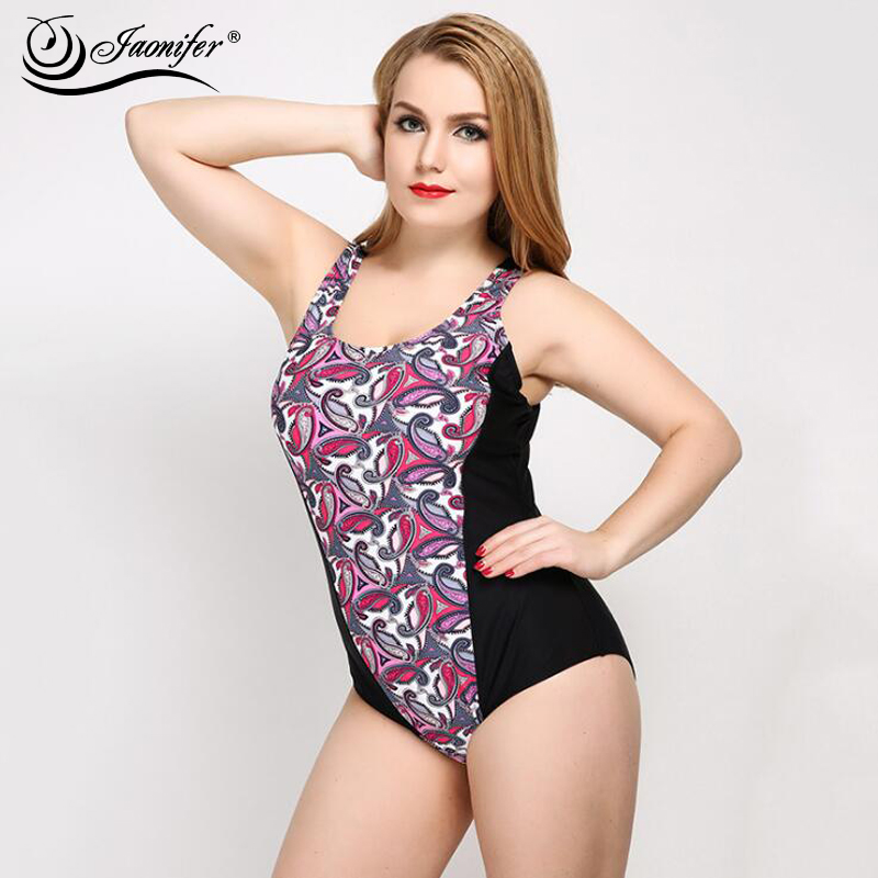 Women One Piece Swimwear Summer Plus Size Swimsuit Swimming  2018 New Printing Sexy Backless Swimsuit Bathing Suit for Women one piece swimsuit cheap sexy bathing suits may beach girls plus size swimwear 2017 new korean shiny lace halter badpakken