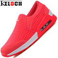 Keloch Oscilación de Las Mujeres Zapatos de Moda de Primavera y Verano Hombres Gasa Respirable Ocasional Love'S Fresco Zapatos 3 Color de Agua