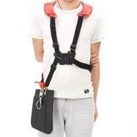 Strimmer Padded Belt Double Shoulder Harness Strap For Brush Cutter Trimmer