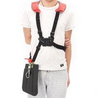 Strimmer Padded Belt Double Shoulder Harness Strap For Brush Cutter Trimmer