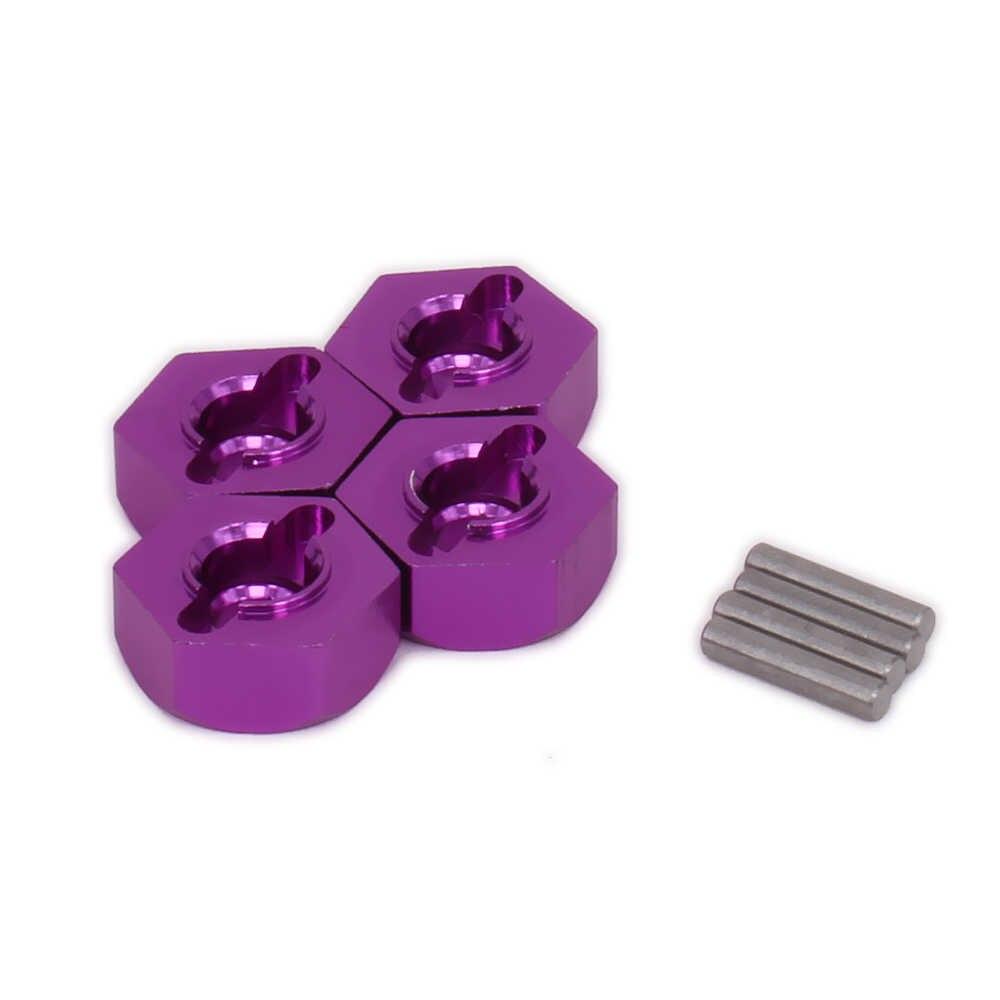 Wheel hex hub adaptor untuk model hobi rc mobil 1/10 Himoto kaki besar rakasa truk E10MTL E10MT E10BP