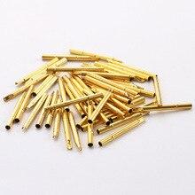 цена на 100 Pcs/Package Series Probe PCB Spring Thimble R156-4S Electronic Test Probe ICT Probe Needle Outer Diameter 2.69mm Probe Pin