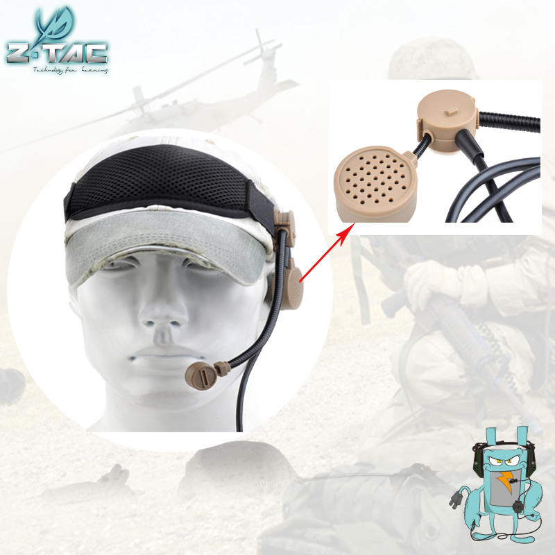 Z-tactical Z COBRA Tactical Military Headset Adjustable Durable Outdoor Hunting Communication Headphone Z043