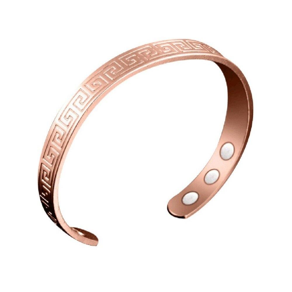 Ausdauernd Charming Frauen Magnetische Gesundheit Armbänder & Armreifen Magnetischen Offenen Mund Design Elegante Armband Abnehmen Ringe HüBsch Und Bunt Gesundheitsversorgung Schönheit & Gesundheit