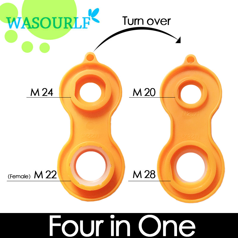 WASOURLF 4 In 1 Tools M20 M22 M24 M28 Faucet Tap Aerator Detached Install Spanner Wrench Bubbler Kitchen Accessories Bathroom