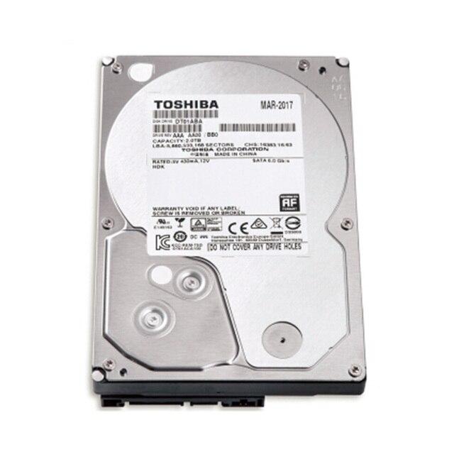 "Toshiba Original HDD 2 TB 3.5 Internal Hard Disk Drives 2TB Sata 3 3.5"" Computer Monitors HD For Desktop New Cheap"