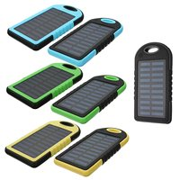 10000MAH External Solar Power Bank Battery Charger Dual USB Portable Source Ultrathin Large Capacity Mobile Outdoor