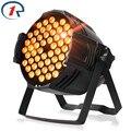 ZjRighrt 90W RGB Fullcolor 54 LED Par light DMX512 concert effect lights Sound control PRO stage light for Party DJ disco lights