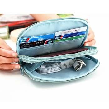Brand Multi-purpose Waterproof Travel Passport Wallet Used To Store Passport,ID Card,Charger Data Cable,Banknotes Cosmetics Etc