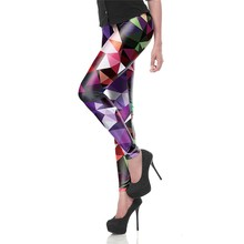 Spring Summer Sexy Legging Geometric Boho Art Legins Modern Leggins Printed Women Leggings High Waist Woman Pants KDK1448