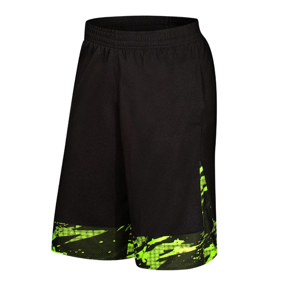 Mens basketball shorts on sale free shipping - Free shipping 2017 new young students men s black green basketball shorts knee length basketball outdoor running