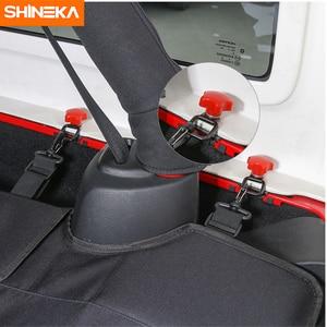 Image 3 - SHINEKA 4 דלתות רכב Trunk כיסוי זנב דלת בורג אבזם לפרק לפרק לרדת כלי Remover עבור ג יפ רנגלר JK 2007 +