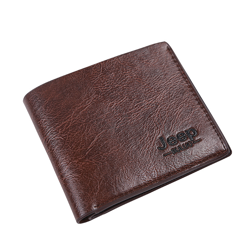New Man PU Leather Material Jeep Wallet Short Men Wallets Card Business Style Mens Hand Bag High Quality Purse цена