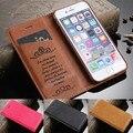 Para iphone 7 plus caso de luxo para iphone 6 6 s & mais adsorção para iphone 5s escudo do telefone capa de couro da aleta para iphone 7 casos
