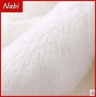 Good Quality Small Piece Imitation Rabbit Fur Pile 2cm Faux Fur Fabric Fur DIY Shoes Hats