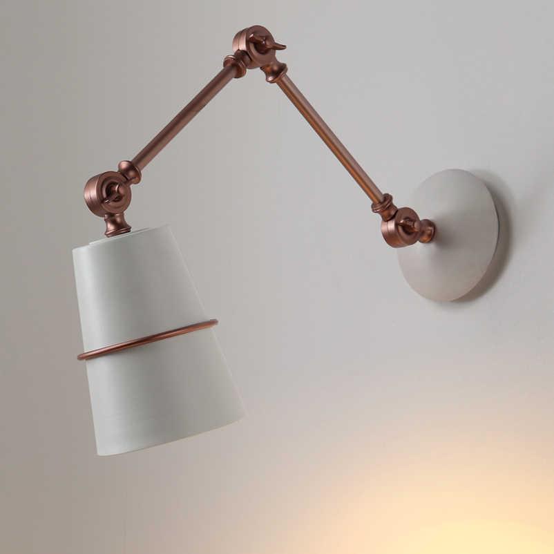 Лофт минимализм творческая личность креативный ресторан для учебы кафе искусство настенный светильник прохода лестницы спальня прикроватная офисная лампа