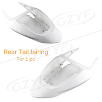 Unpainted Tail Rear Fairing Bodykits Bodywork for Kawasaki 2003 2004 NINJA ZX6R Injection Mold ABS Plastic