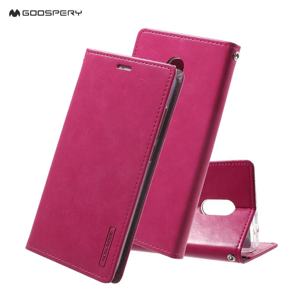 Mercury Case Canvas Diary For Xiaomi Mi4i Dark Blue Daftar Goospery Note 4 4x Hongmi Redmi 3 2 Phone Moon Seires Wallet