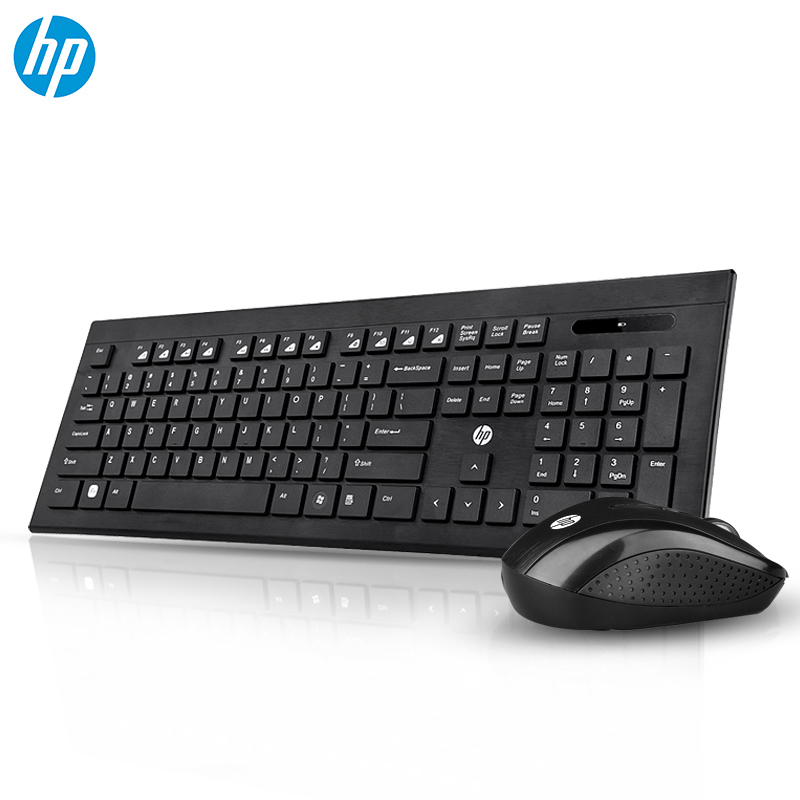 HP CS300 Wireless Keyboard Mouse Combo Mute office saves electricity Lap Top Gamer Optical Ergonomics
