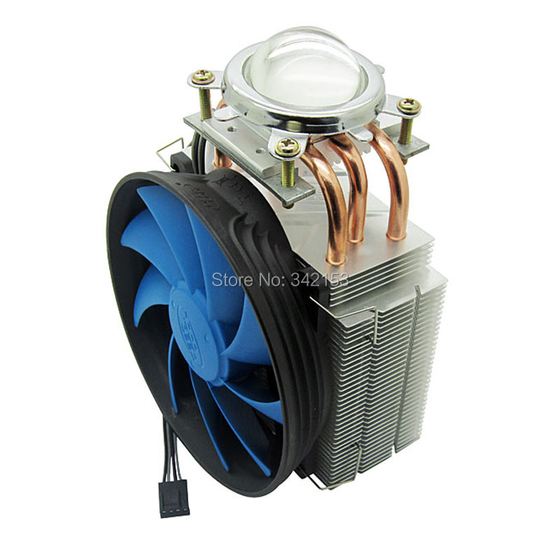 ФОТО 44.5MM Led Lens + DC12V 50W - 100W Led Heatsink Cooling Fans For High Power Spot Lights Automobile Lights Projector Lamps