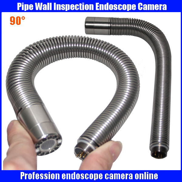 23mm Snake Sewer Drain Pipe Wall Inspection Endoscope Camera with 90 degree camera head electric power sewer snake machine auger cable drain clog cleaner snake pipe sewer 32 100mm tub ce approval