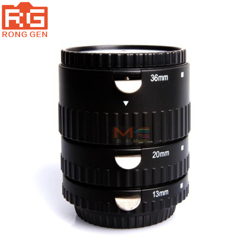 Meike MK-S-AF-B ABS Auto Focus AF Macro Extension Tube Set for Sony Camera зимняя шина hankook winter i pike rs w419 155 65 r14 75t