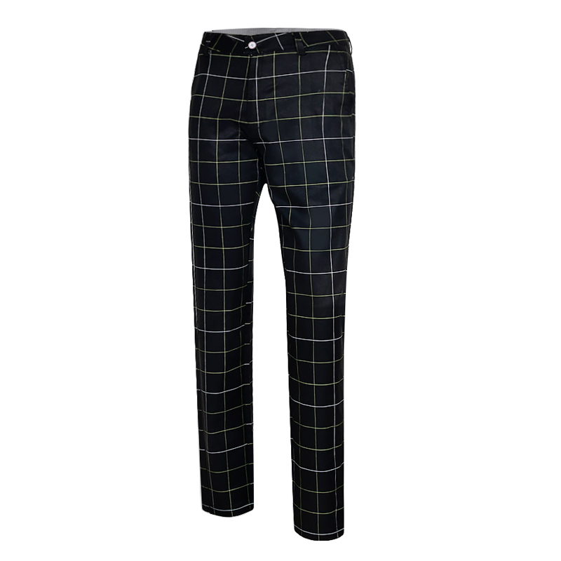 PGM Ultra-thin Long Plaid Pant Full Size Trousers Men's Trousers Tennis Pant Summer Lattice De Golf Pour Hommes Trousers Clothes pgm autumn winter waterproof men golf trousers thick keep warm windproof long pants vetements de golf pour hommes golf clothing