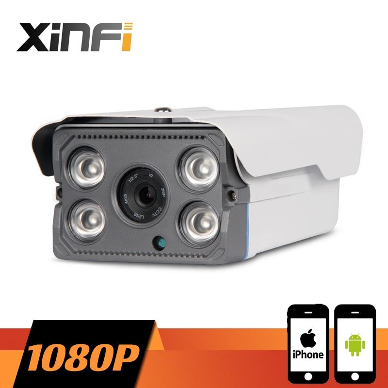 XINFI 1920*1080P CCTV IP camera night vision Outdoor Waterproof network P2P HD CCTV camera 2.0 MP ONVIF 2.0 PC&Phone remote view