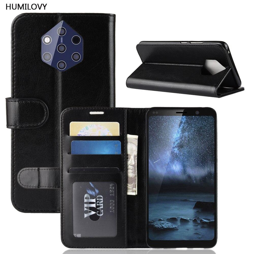 For Nokia 9 PureView Case for Nokia9 PureView Case PU Leather Cover Phone Case For Nokia 9 PureView TA-1094 TA 1094 Flip Cover
