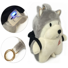Cute 6000mAh Power Bank with Dog Doll for Girl External battery Quick Charger Powerbank for Mobile Phone for Outdoors daily