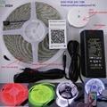 10 м/рулон 24В 600LED RGB SMD5050 гибкая светодиодная лента + UFO IOS и Android Bluetooth цветной DIY muisc контроллер + 24 В 5А адаптер Комплект
