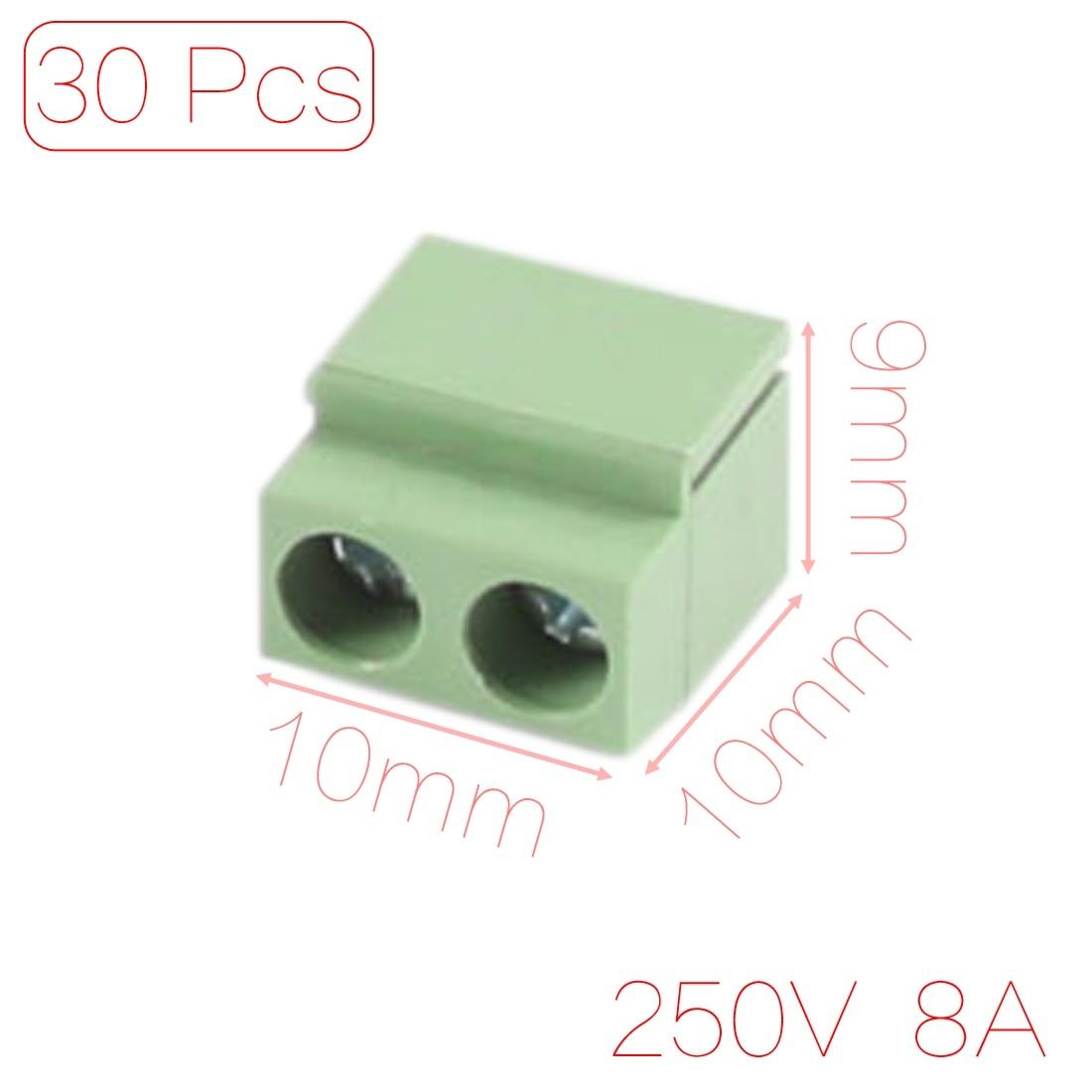 6.8mm 100pcs Uxcell Car Non-insulated Spade Crimp Terminals Connectors