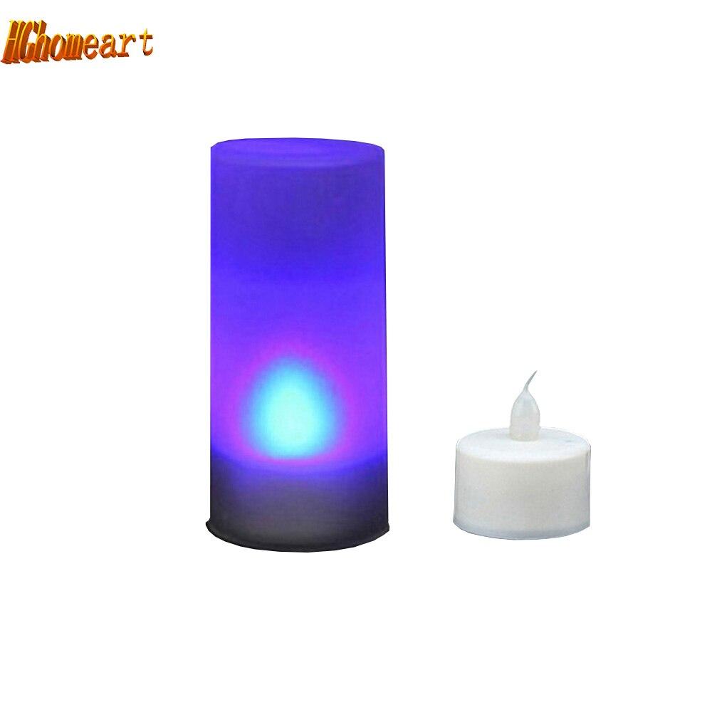 Electronic Color Change LED Candle night light with motion sensor baby room novelty led energy saving lamp kids light