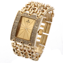 mujer Relogio Gold Watches