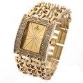 G & D Luxus Marke Frauen Uhr 2019 Gold Quarz Armbanduhr Damen Armband Uhren Relogio Feminino reloj mujer dropshipping Geschenk-in Damenuhren aus Uhren bei