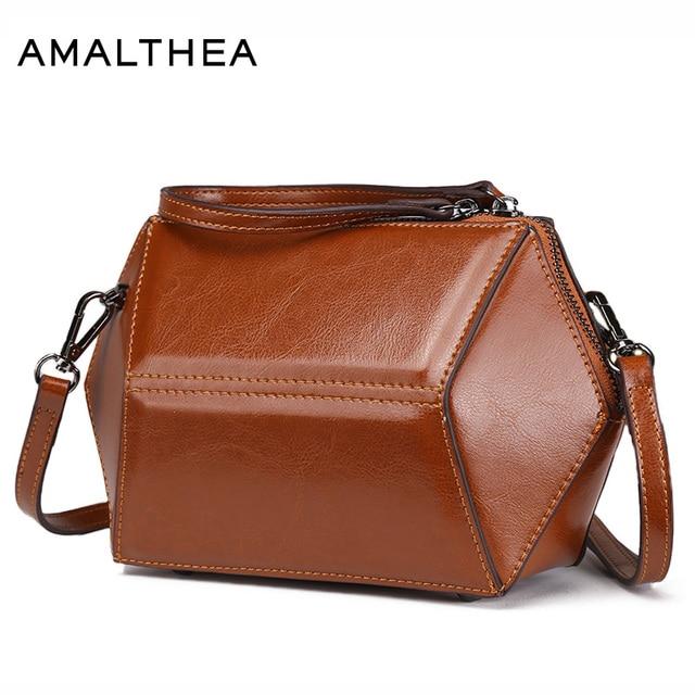 42aebad01d51d AMALTHEA Brand Fashion Small Bag Designer Handbags High Quality Womens  Stereo Bag Black Shoulder Bags For Women 2017 New AMAS024