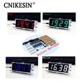 DIY kit Digital clock production suite voice timekeeping clock parts LED DIY SCM training electronic watch 4 colors (optional)