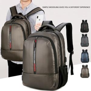 Image 2 - Shellnail Waterproof Laptop Bag Backpack 15.6 17.3 inch Notebook Bag 15 17 inch Computer Bag USB for Macbook Air Pro Dell HP Bag