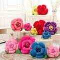 50 CM de uma peça PP algodão brinquedo de pelúcia rosa almofada carro flor série de almofadas de dormir amantes dos namorados presente 7 cores