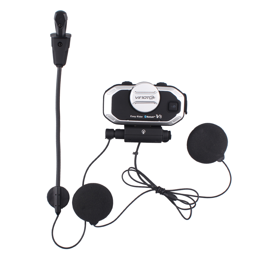 2 հատ Vimoto V8 Motorcycle Bluetooth ստերեոֆիկ - Պարագաներ եւ պահեստամասերի համար մոտոցիկլետների - Լուսանկար 4