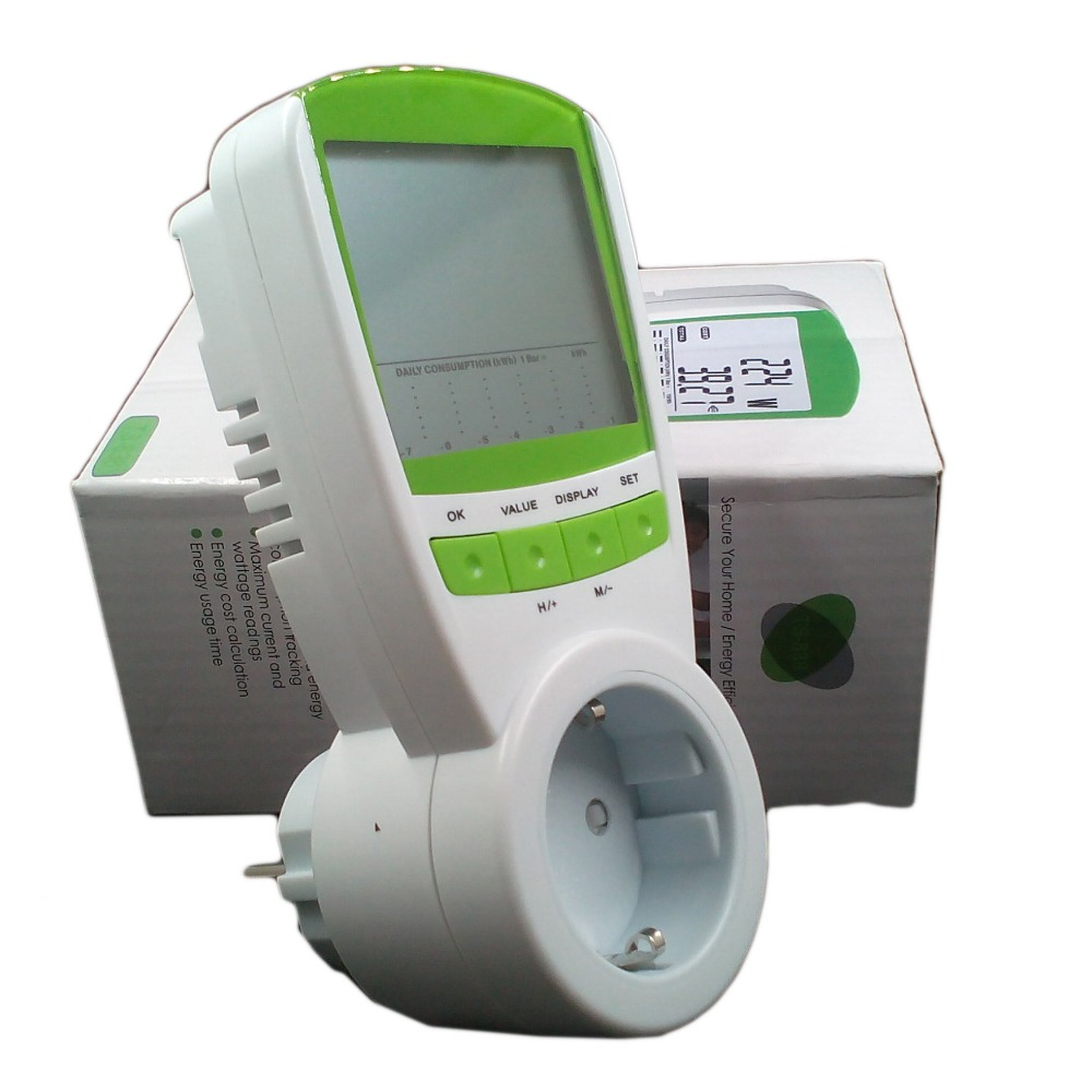 Electric Power Detector : Electric energy meter saver power watt tester