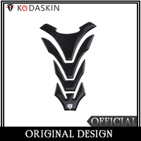 KODASKIN Universal Tank Pad Decal Raised Sticker Carbon Protector Emblem For YAMAHA R1 R6 R3 MT 09 MT 07 MT 03 Kawasaki Ducati