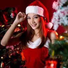 Plush Christmas hats Christmas Holiday Xmas Cap for Santa Claus