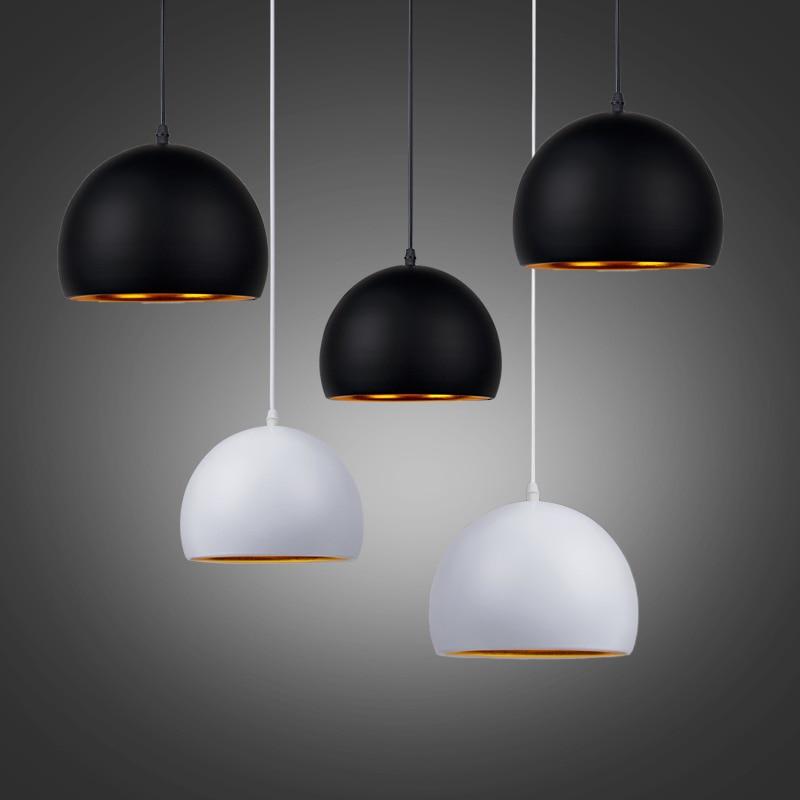 Image 5 - Modern Simple Ball E27 Pendant Lights Cafe Restaurant Lighting Pendant Lamp Light Fixtures Decorate Lamp Droplight-in Pendant Lights from Lights & Lighting