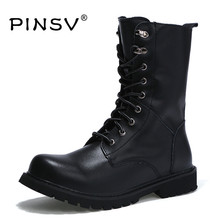 winter martin military boots men shoes cow split leather men boots mid-calf fur boots for men winter shoes zapatos hombre
